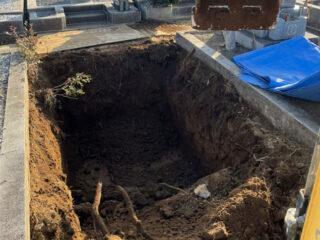千葉県八柱霊園解体工事